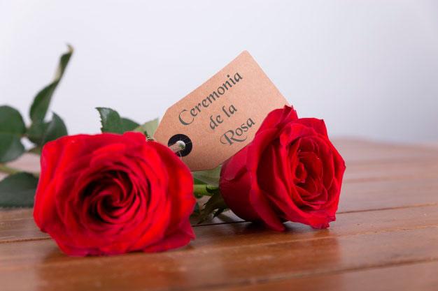 Ceremonia civil - Ritual de la rosa