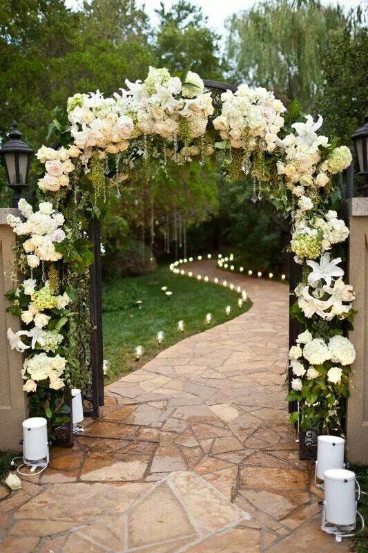 Pasillo de entrada a ceremonia civil